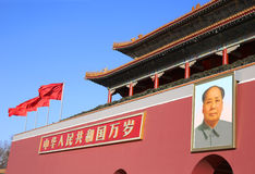 Beijing Tiananmen Royalty Free Stock Photography