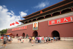 Beijing tiananmen tower Royalty Free Stock Photo