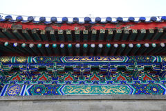 Beijing Tiantan building roof Stock Photography