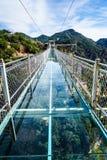 Beijing Tianyun Mountain Glass Walking Trails Royalty Free Stock Image