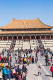 Beijing tourism destination the national Palace Museum in China Stock Image