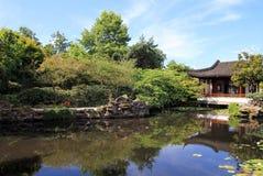 beijing trädgårds- slottsommar Fotografering för Bildbyråer