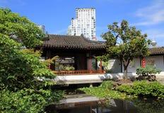 beijing trädgårds- slottsommar Royaltyfria Bilder
