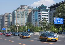 Beijing traffic Stock Image