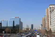 Beijing traffic Stock Photography