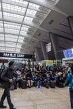 Beijing train station Stock Image