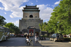 Beijing Travel ,central axis-Drum Tower Royalty Free Stock Image