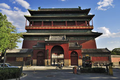 Beijing Travel ,central axis-Drum Tower Royalty Free Stock Photo