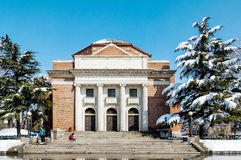 Beijing Tsinghua Snow Royalty Free Stock Image