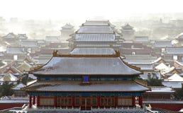 beijing tung hitssnow Arkivbilder