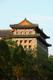 Beijing turret. The turret in the beijing in 2011 stock images