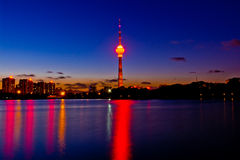 Beijing TV tower Royalty Free Stock Photography