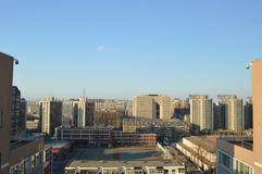 Beijing Urban Landscape. In Beijing, China, landscape modern buildings are also worth watching Royalty Free Stock Images