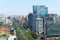 Beijing urban landscape Stock Photos