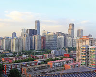 Beijing urban landscape Royalty Free Stock Photography