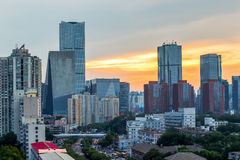 Beijing urban landscape Royalty Free Stock Images