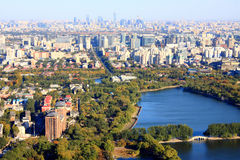 Beijing urban landscape Stock Image