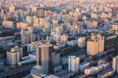 Beijing urban landscape Royalty Free Stock Photo