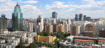 Beijing Urban Skyline,China Stock Photo