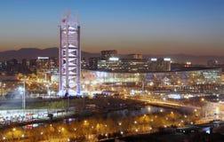Beijing Urban Skyline,China royalty free stock image