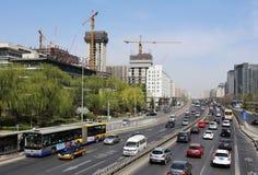 Beijing Urban Skyline,China stock images