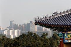 Beijing velho e novo Imagem de Stock Royalty Free