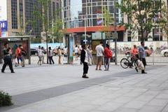 Beijing wangfujing Royalty Free Stock Photo