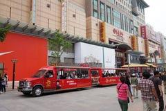 Beijing Wangfujing pedestrian street Stock Photography