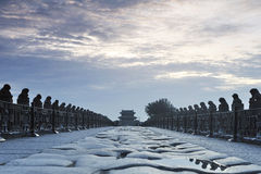 Beijing Wanping City Royalty Free Stock Photography