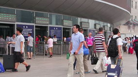 Beijing west railway station at daytime. HD Royalty Free Stock Images