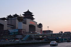 Beijing west railway station royalty free stock photography