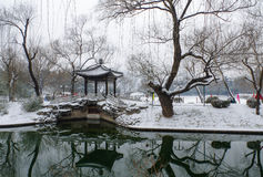 Beijing in winter Stock Image