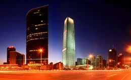 Beijing World Trade Center three. Trade three internal Royalty Free Stock Photography