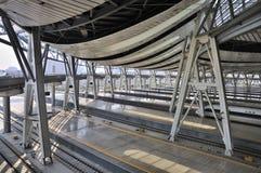 beijing wysokości poręcza kolejowa prędkości stacja Obrazy Royalty Free