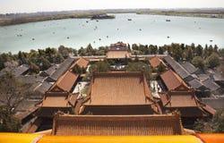 beijing wzgórza Kunming jeziorny długowieczności pałac lato Obraz Stock