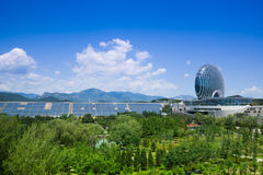 Beijing Yanqi apec Convention Center Royalty Free Stock Images