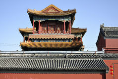 Beijing Yonghegong Lama Temple Royalty Free Stock Photos