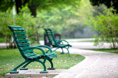 Beijing Zhongshan Park chair Royalty Free Stock Images