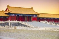 Beijings紫禁城 库存照片