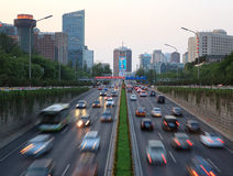 Beijing's Central Business District Royalty Free Stock Photos