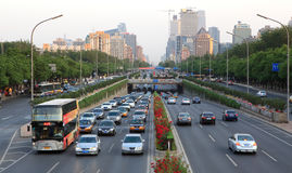 Beijing's Central Business District, China. Royalty Free Stock Photography