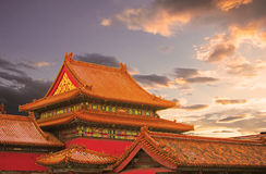 Beijings Forbidden City Stock Photo