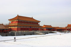 Beijings Forbidden City Royalty Free Stock Image
