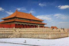 Beijings Forbidden City Stock Image