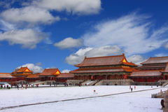 Beijings Forbidden City Royalty Free Stock Photos
