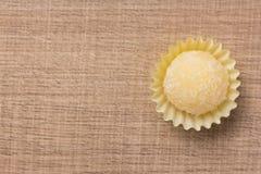 Beijinho jest cukierkiem od Brazylia: zgęszczony mleko i koks chi Fotografia Stock