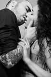 Beijo imagens de stock