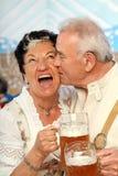 Beijo bávaro imagem de stock royalty free