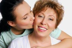 Beijo com amor Fotografia de Stock Royalty Free