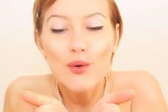 Beijo do ar Fotos de Stock Royalty Free